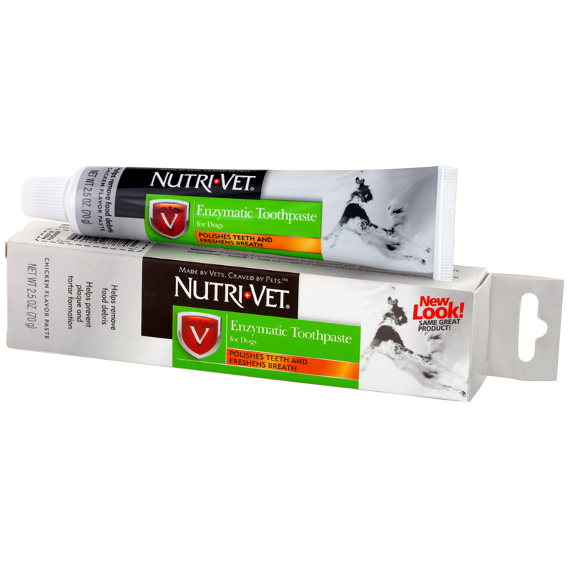 Nutri Vet Enzymatic Toothpaste for Dogs 2.5-oz