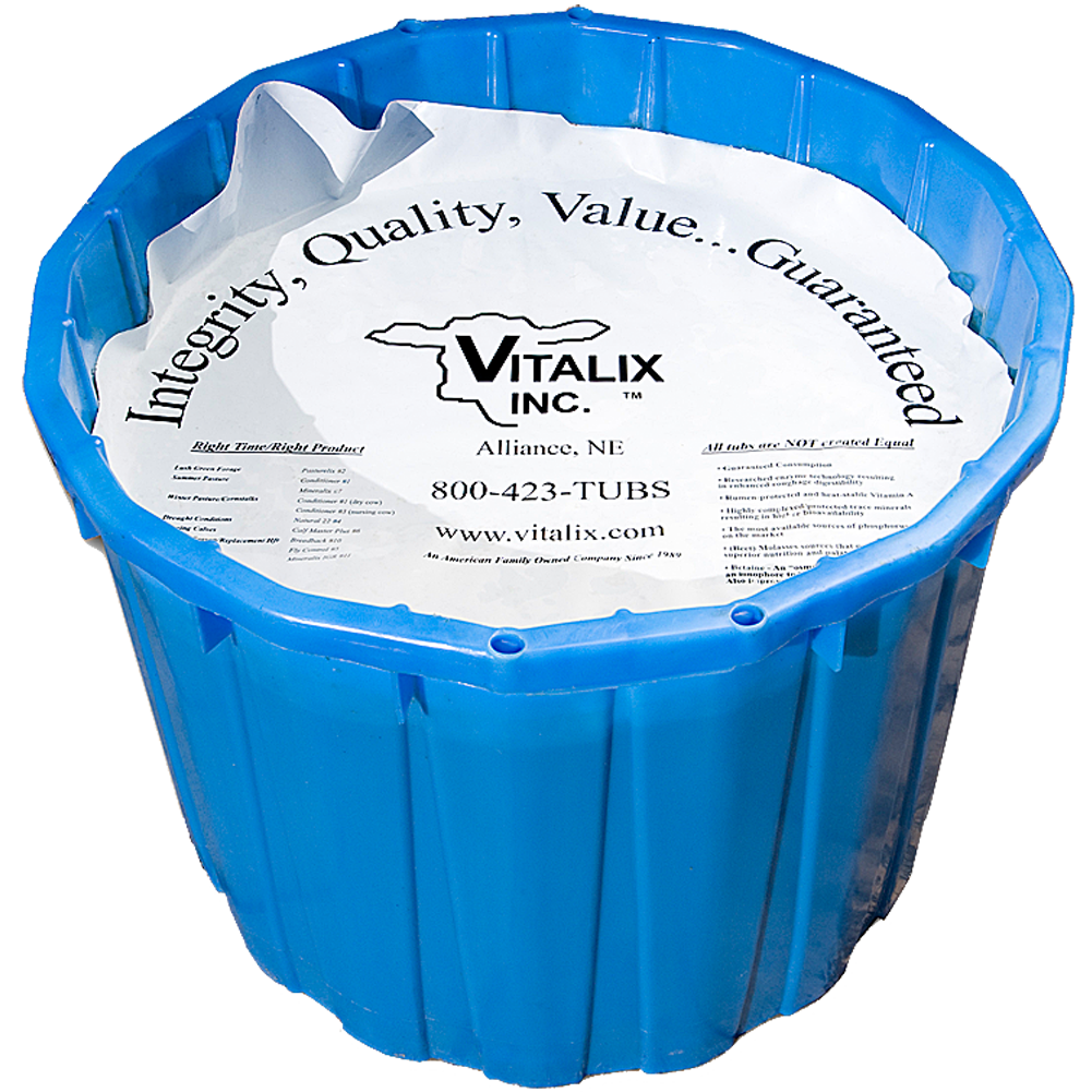 Vitalix Equine Developer #12 Tub 50 lb