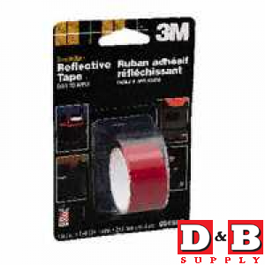 Reflective Safety Tape Red