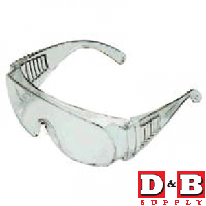 Econ Clear Safety Glasses   24