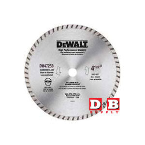 Hi Performance Masonry Saw Blade 4-1/2IN