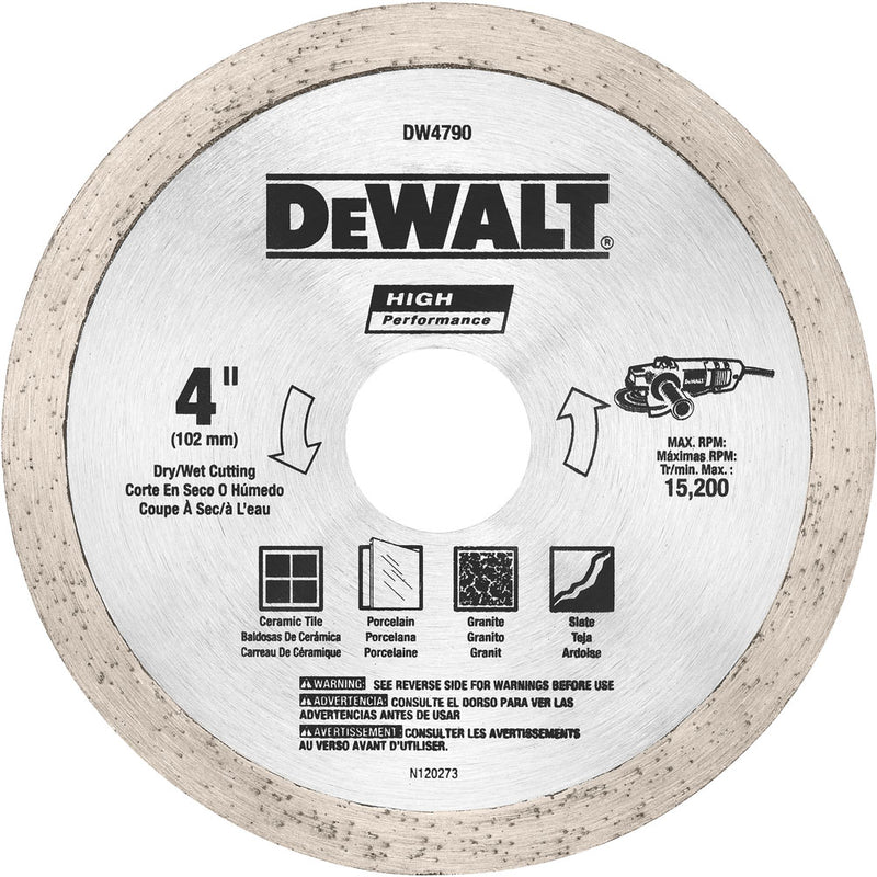 4in Tile Saw Blade