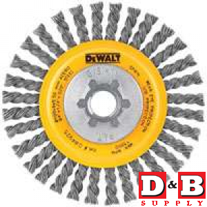 4in Full Cable Twst Wire Wheel