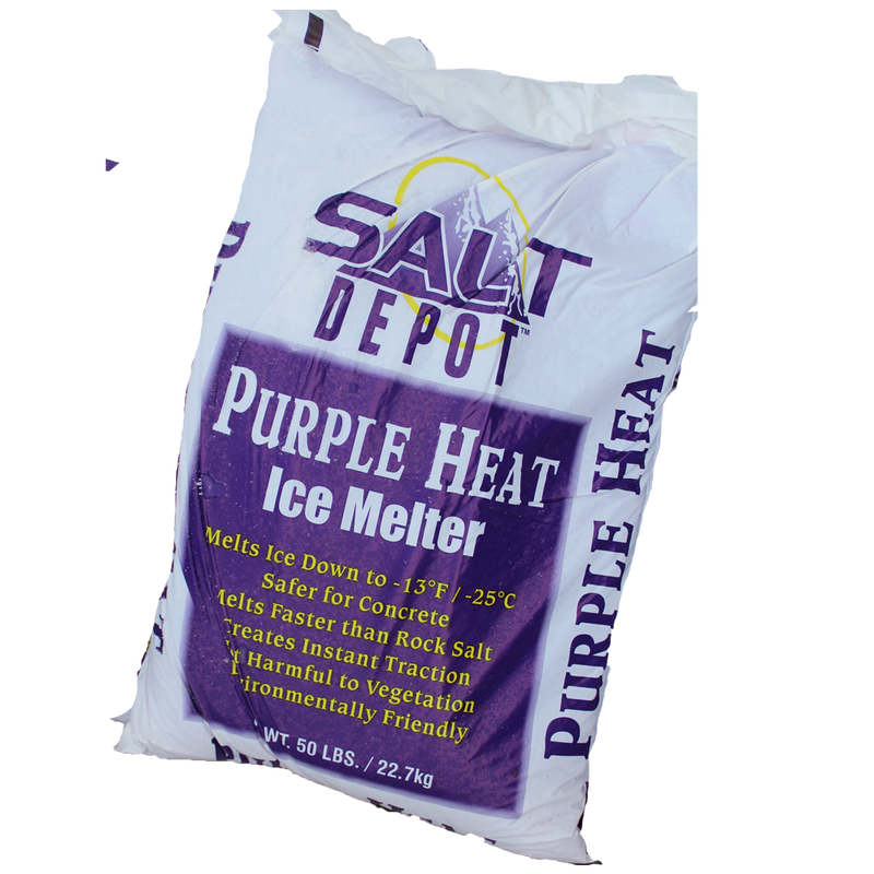 Ice Melt Purple Heat 50lb