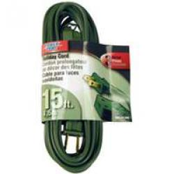 16/2 15ft Indoor Cord Green 25