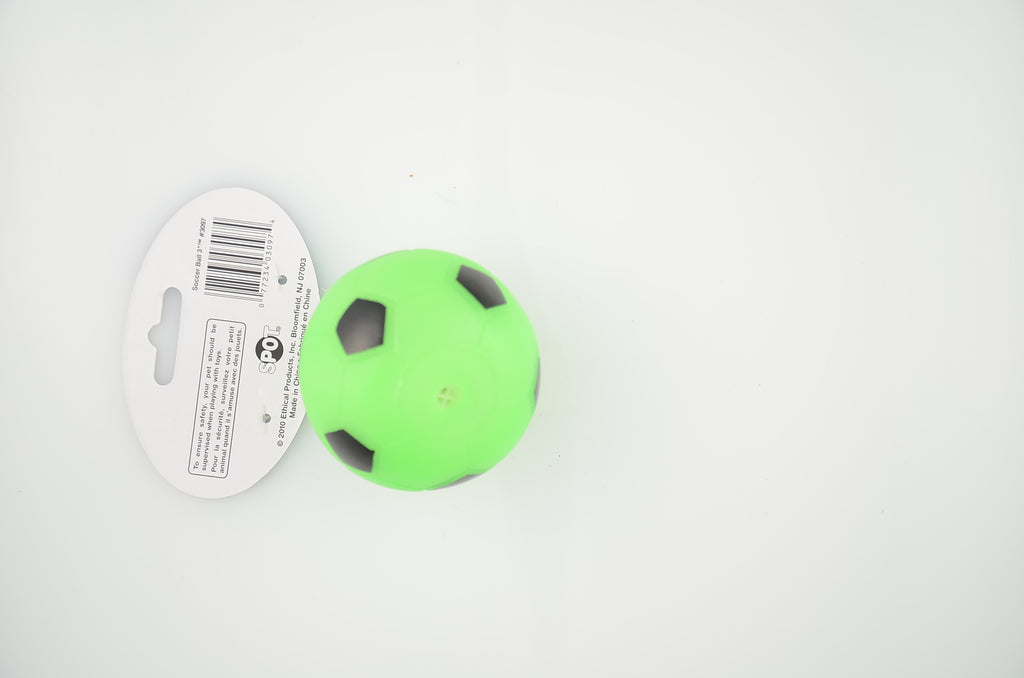 Soccer Ball 3in Dog Toy