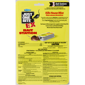 Farnam Just One Bite EX Bait Station 3 pk