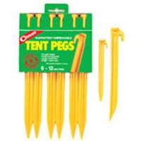 Tent Pegs Abs Plastic 6pack 12