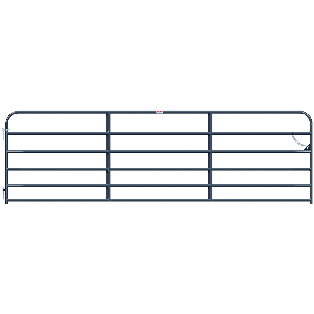 Behlen 14-Foot 20Ga Utility Gate Gray