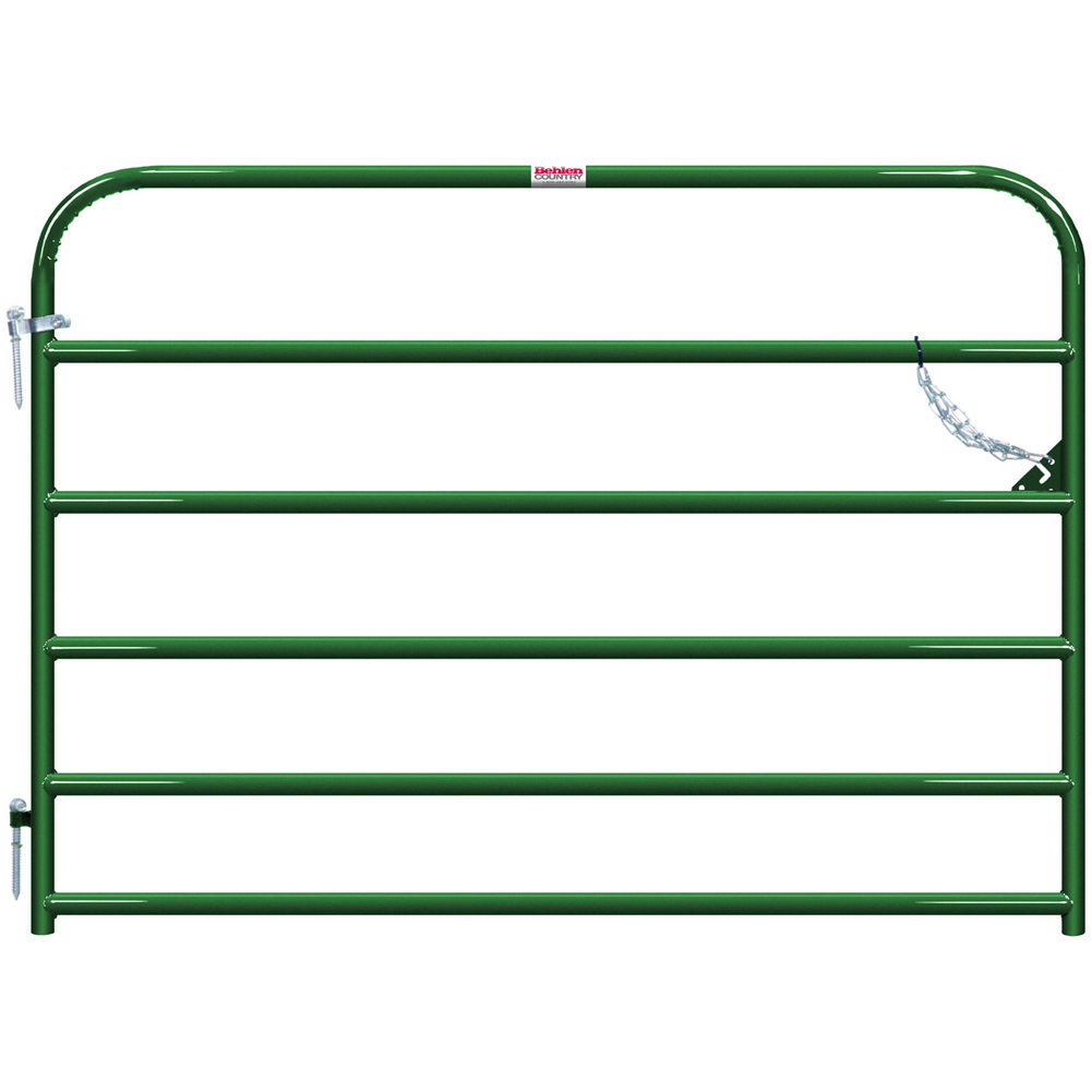 Behlen 6-Foot 1-5/8 Utility Gate Green