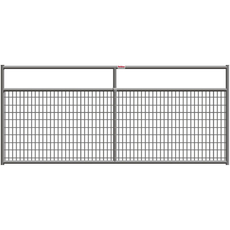 Behlen 10-Foot 1-5/8 Wire-Filled Gate Gray