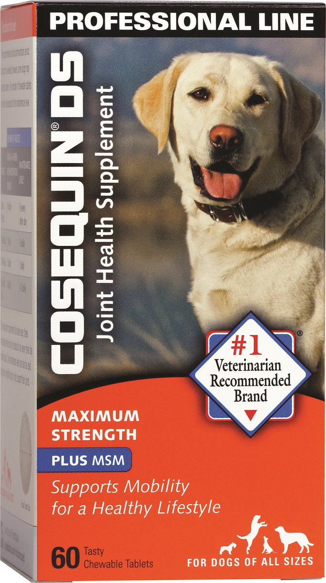 Cosequin® DS MSM Tablets for Dogs 60ct