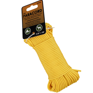 Paracord Nylon Yellow 5/32x100