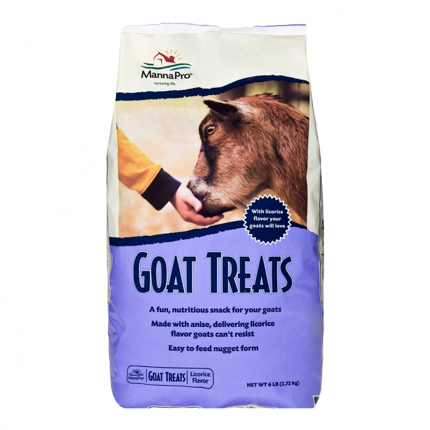 Goat Treats Licorice 6lb