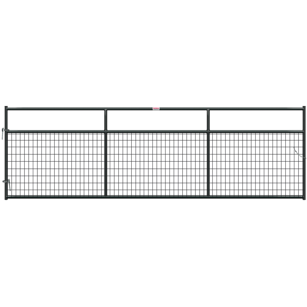 Behlen Gray 1-5/8 Wire-Filled 14-Foot Gate