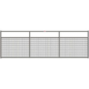 Behlen Gray 16-Foot 1-5/8 Wire-Filled Gate