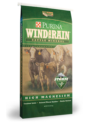 Purina Wind and Rain High Mag 4 Complete Mineral 50lb