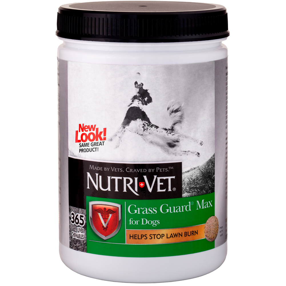 Nutri-Vet Grass Guard Max Chewables for Dogs 365 count