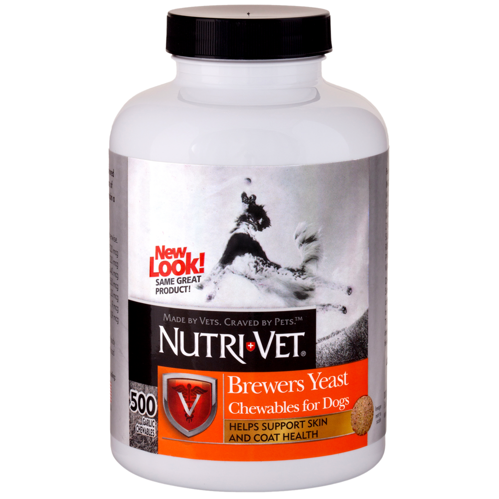 Nv Brewers Yeast Garlic 500ct