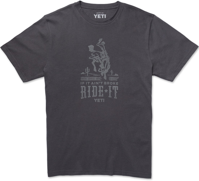 Yeti If It Aint Broke Ride It T-Shirt Medium