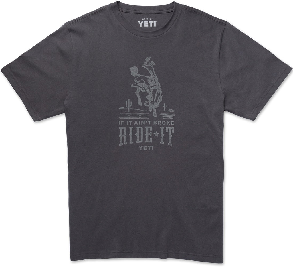 Yeti If It Aint Broke Ride It T-Shirt Large