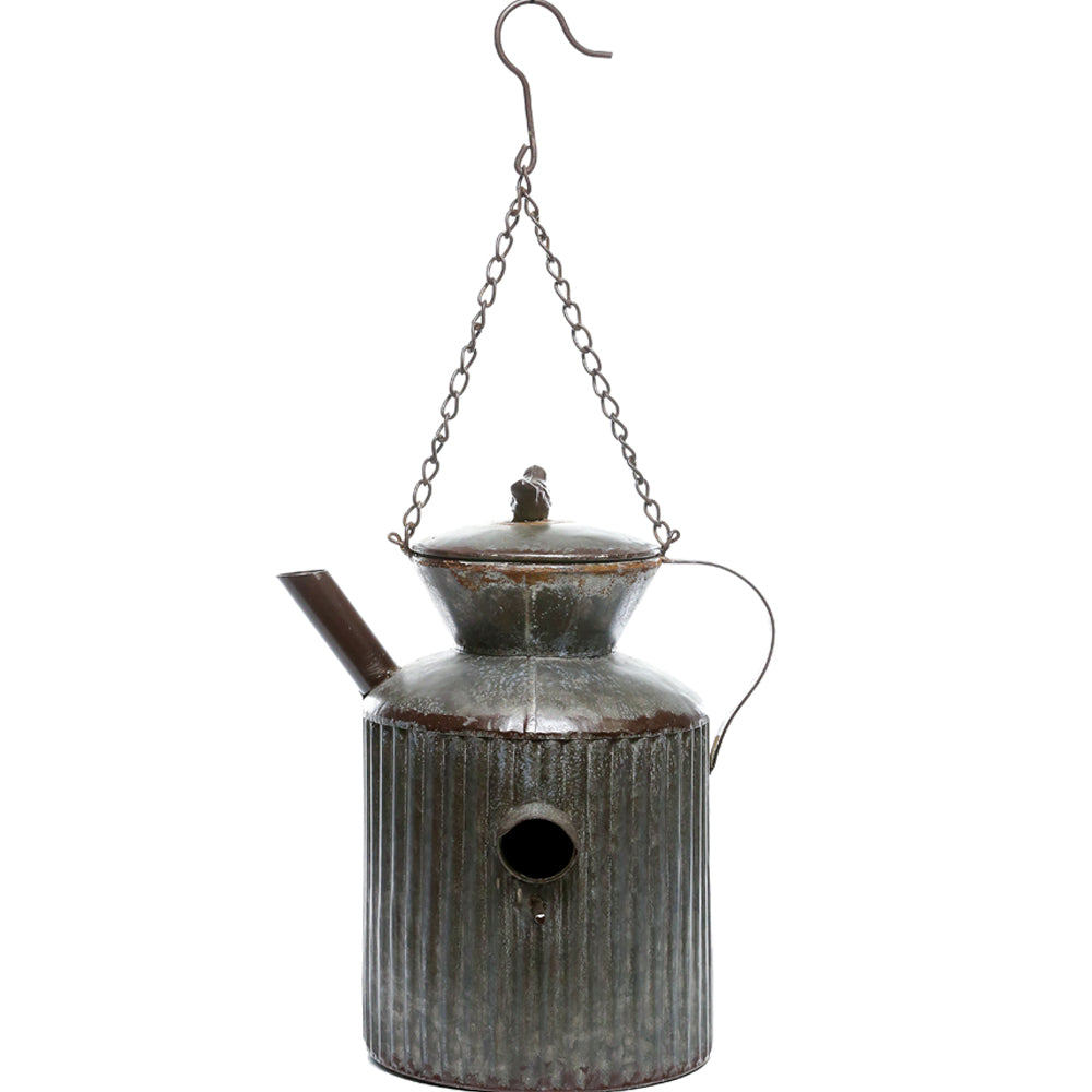 Alpine Corporation Watering Tin Can Birdhouse