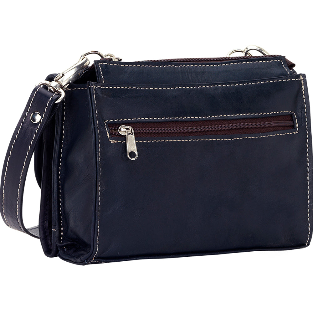 American West Texas Two-Step Crossbody Navy