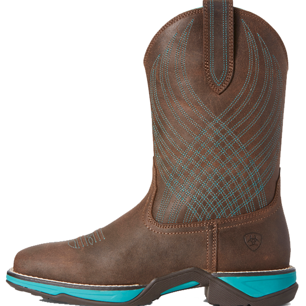 Ariat 8.5C Womens Anthem Western Boot Java