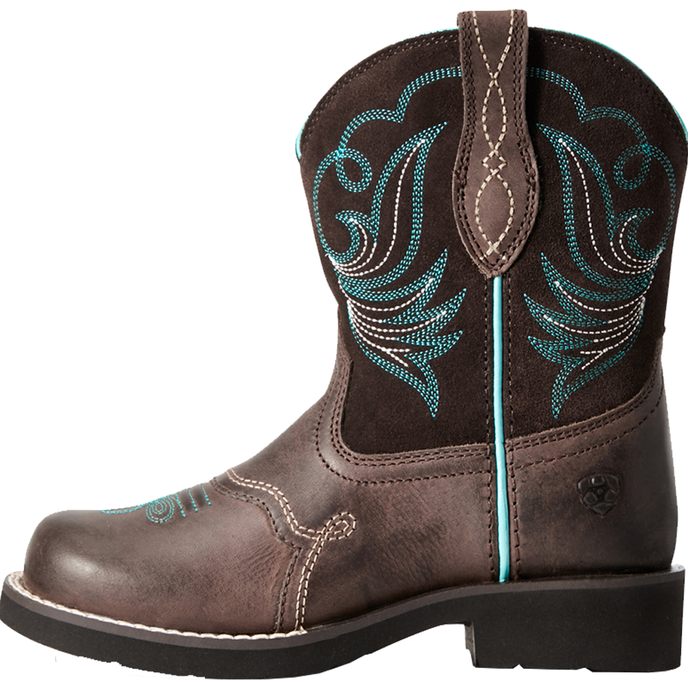 Ariat 1 Kids Fatbaby Heritage Dapper Western Boot Toffee Bean