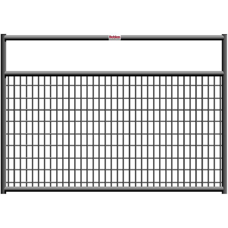 Behlen 6-Foot 1-5/8 Wire-Filled Gate Gray