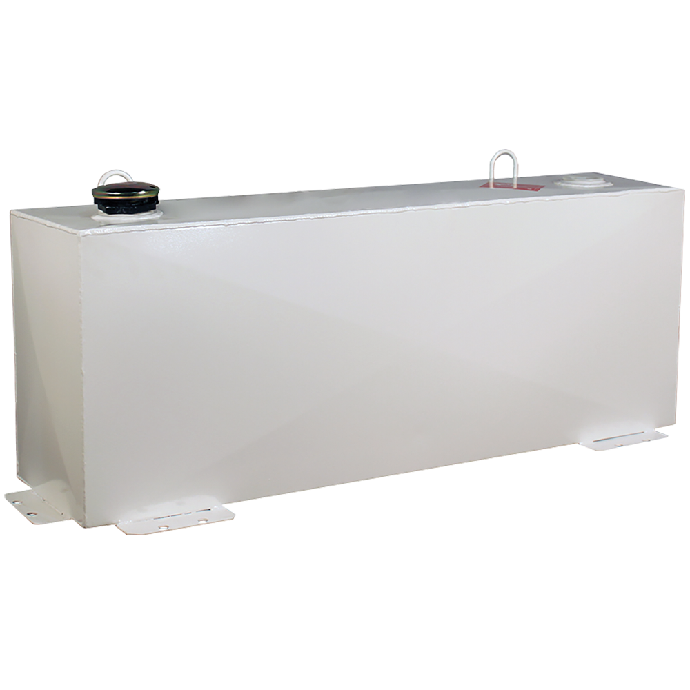 Better Built 36-Gallon Vertical Steel Transfer Tank White