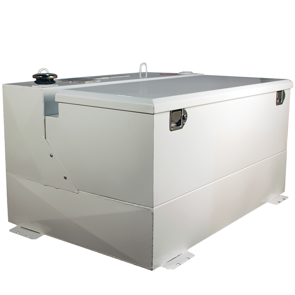 Better Built 75-Gallon Combo Steel Transfer Tank White
