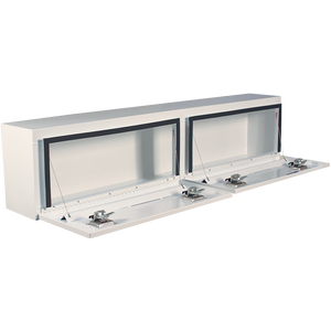 Better Built 72-Inch Steel Hi-Side Double Door Truck Box White