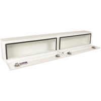 Better Built 96-Inch Steel Hi-Side Double Door Truck Box White