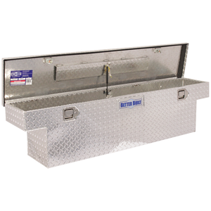 Better Built 61-1/2 Inch Narrow Saddle Truck Box Brite Aluminum