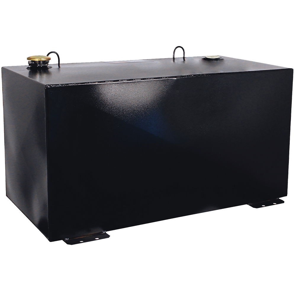 Better Built 100-Gallon Rectangle Steel Transfer Tank Black