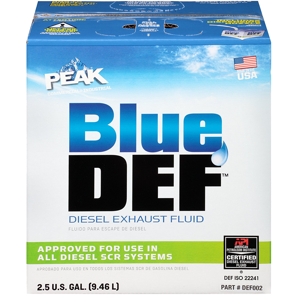 2.5gal Blue Def Exhaust Fluid
