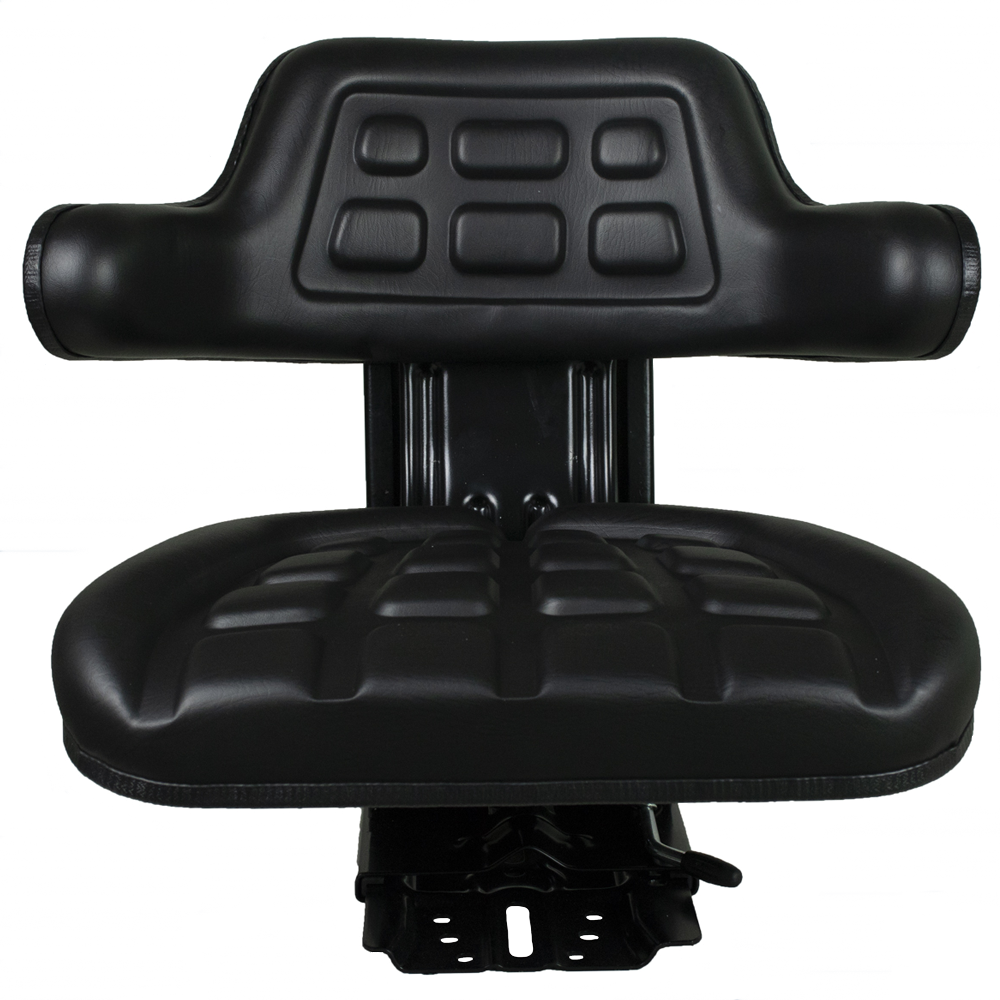 Ag Universal Black Tractor Seat With susp
