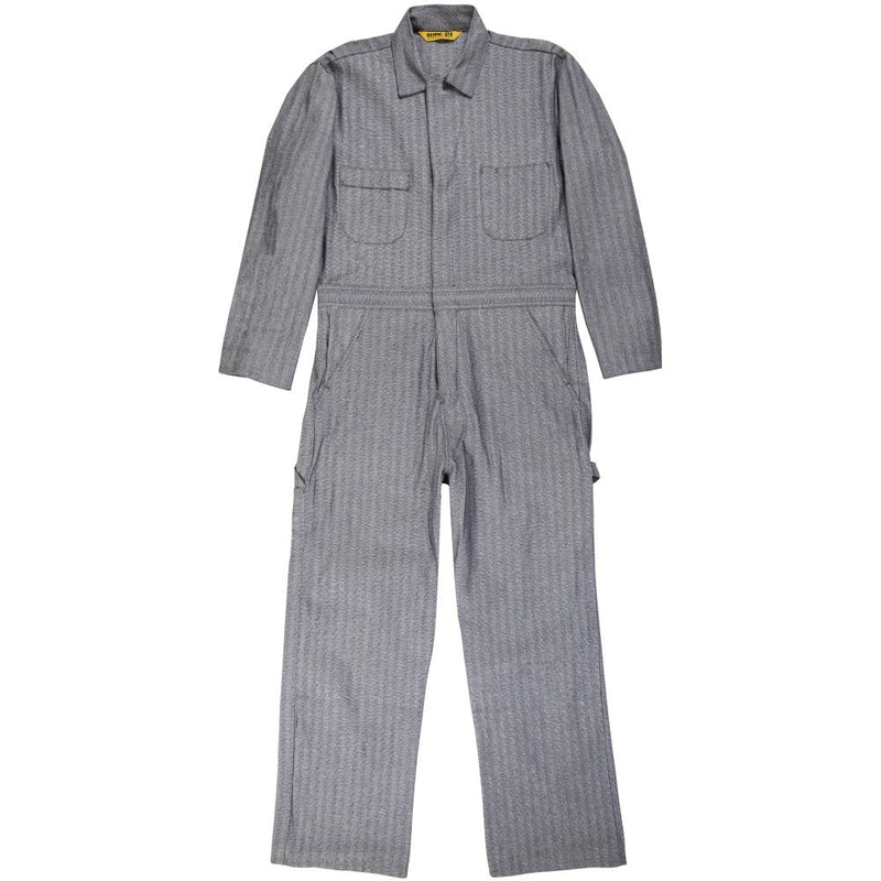Medium Short Unlined Long-Sleeve Coverall Fisher Stripe