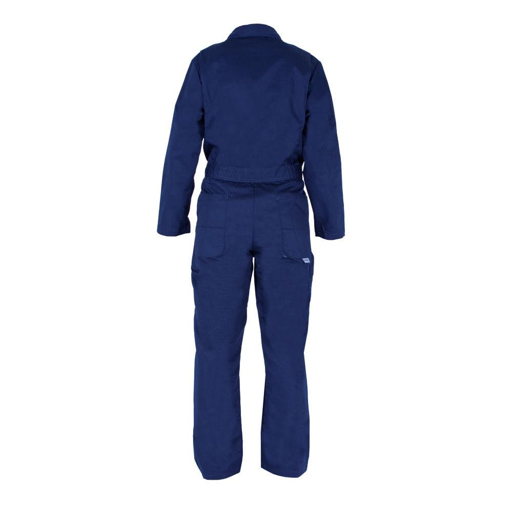 38R Unlined Long-Sleeve Coverall Navy