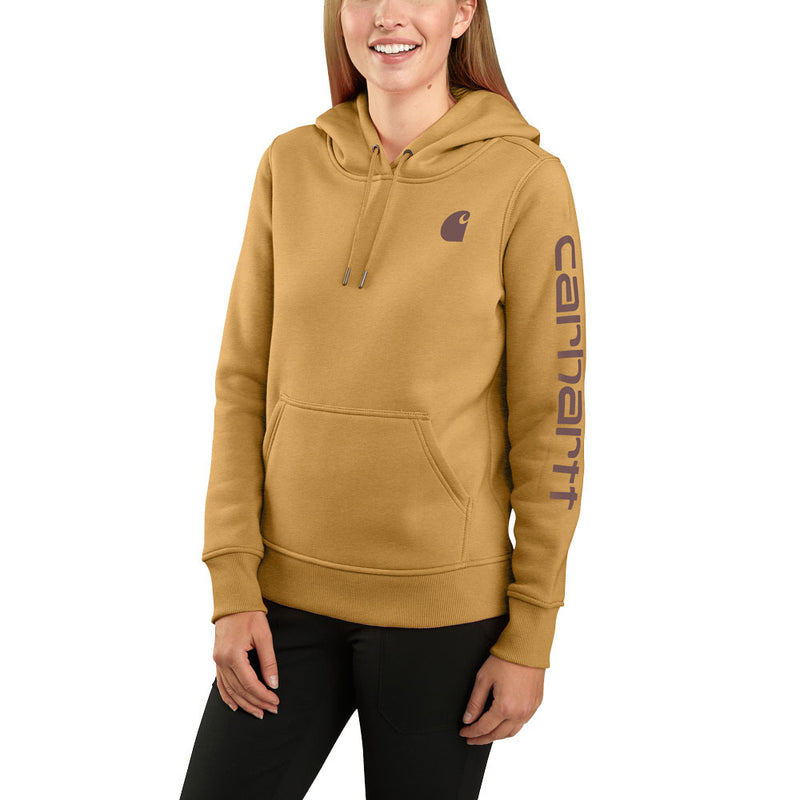 Womens 2X-Large Clarksburg Graphic Sleeve Pullover Sweatshirt Yellowstone Heather