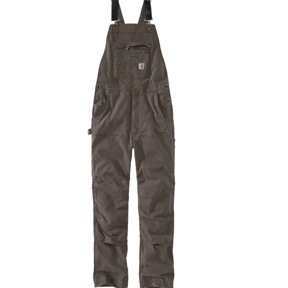Carhartt 40x30 Mens Rugged Flex Rigby Bib Overall Gravel