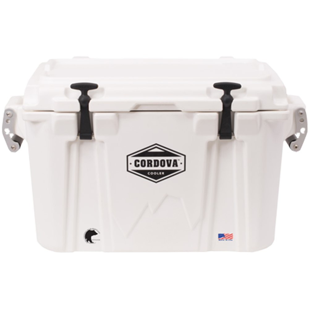 Cordova 35 Small Cooler White
