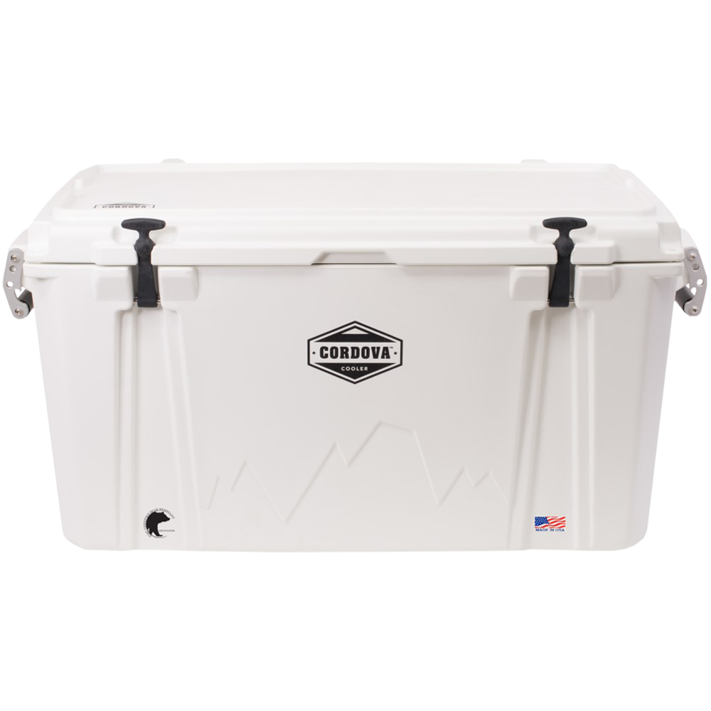 Cordova 100 Large Cooler White