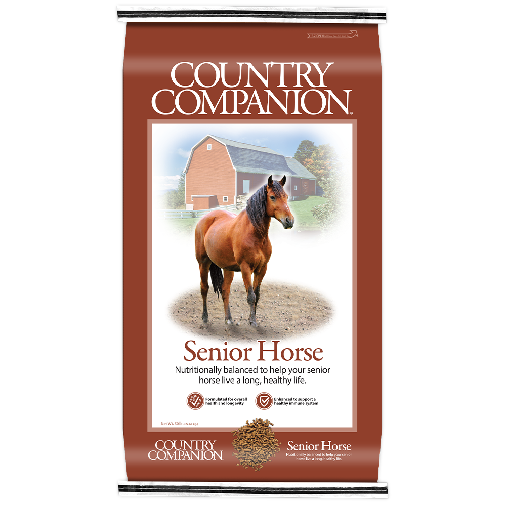 Country Companion Senior Horse Feed 50-Lbs