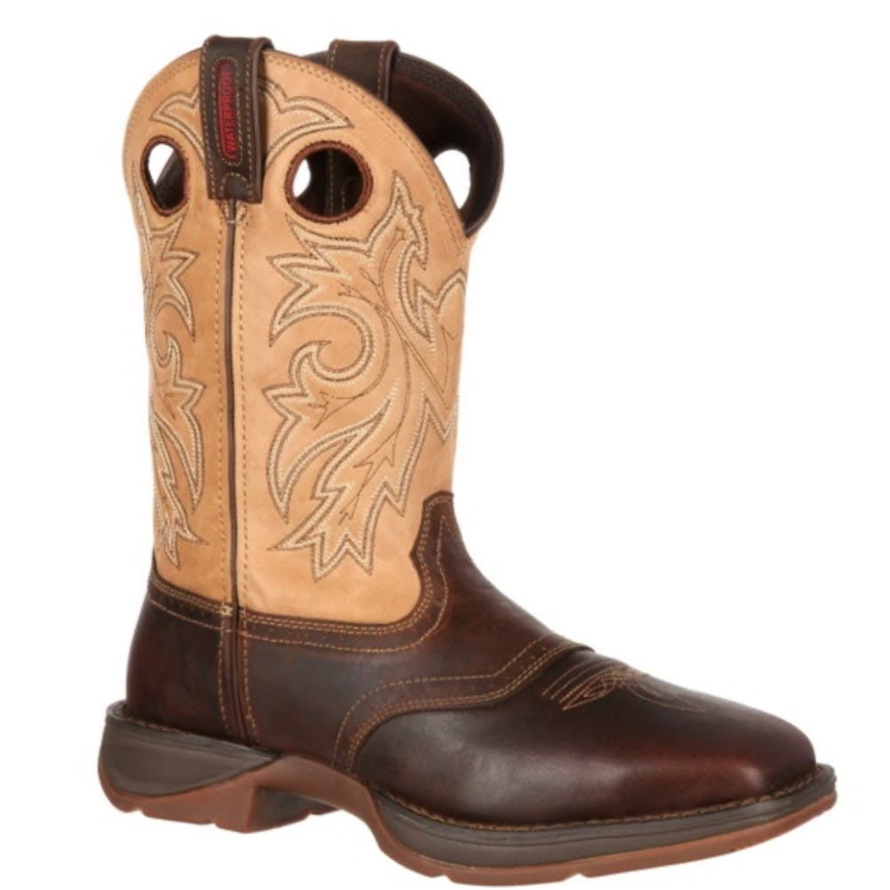 8D Men's Rebel Cowboy Boot Brown/Tan