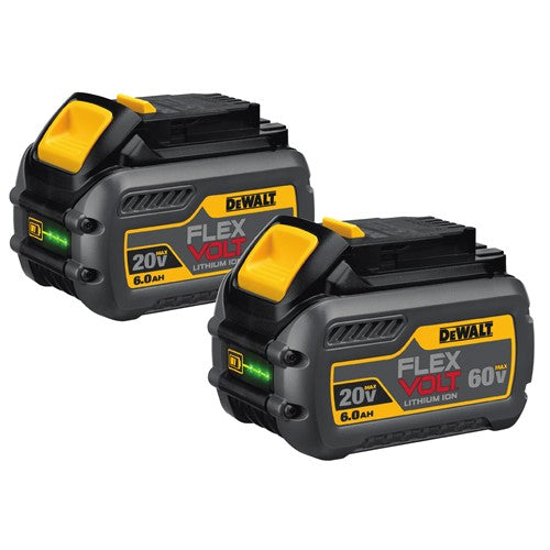 20v/60v Flexvolt 2pk Batteries
