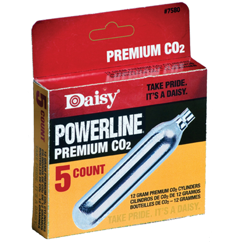 Daisy Powerline Co2 7580 - 5 Pack