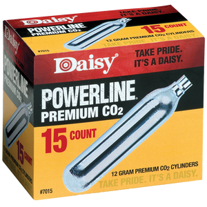 Daisy 12gm CO2 Cylinders - 15 Count