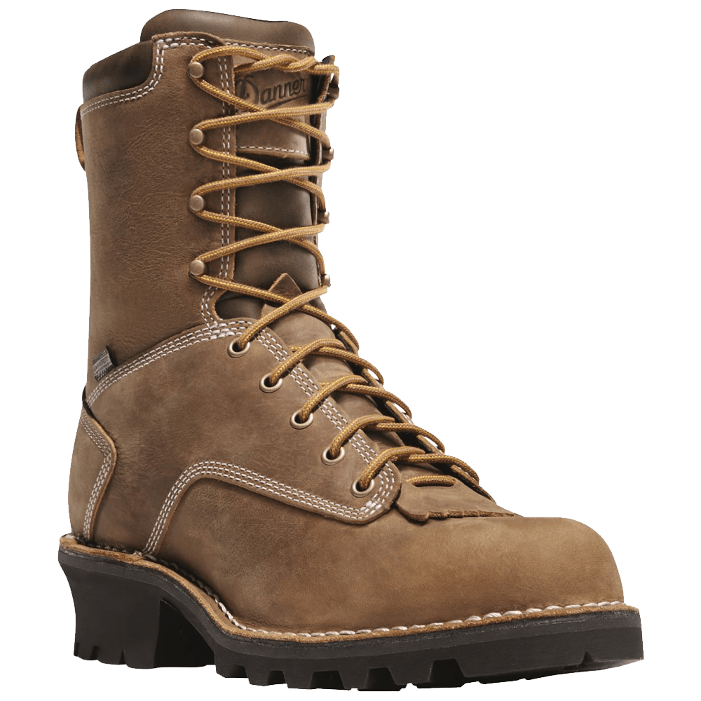 9D Danner Logger 8in Boot Brown
